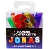 LED Namens-Lichterkette JONAS