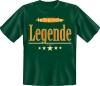 Fun Shirt lebende Legende  T- Shirt Spruch