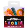 LED Namens-Lichterkette LEONIE Lichterkette Name Deko innen