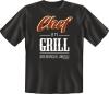 Fun Shirt CHEF AM GRILL T-Shirt Spruch