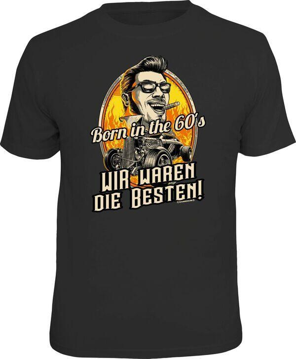 T-Shirt BORN IN THE 60s WIR WAREN DIE BESTEN