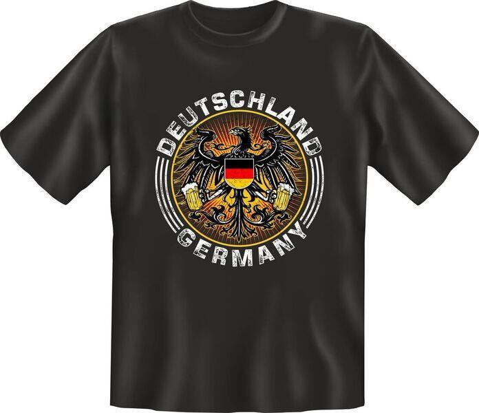 T-Shirt Deutschland GERMANY Adler