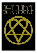 Flagge HIM - Heartagram Logo