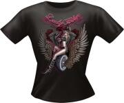 T-Shirt Lady BIKER Girlie PARTY Shirt Spruch witzig Fun