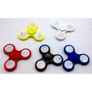 Fidget Finger Spinner Hand LED Kunstoff Kreisel Anti Stress