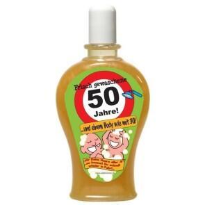 Frisch Gewaschene 50 Jahre Shampoo Geburtstag Scherzartikel 350 Ml