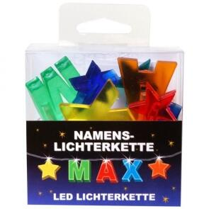 LED Namens-Lichterkette MAX