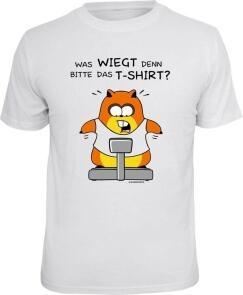 T Shirt Was Wiegt Denn Das T Shirt Diat Abnehmen Hamster Geschenk