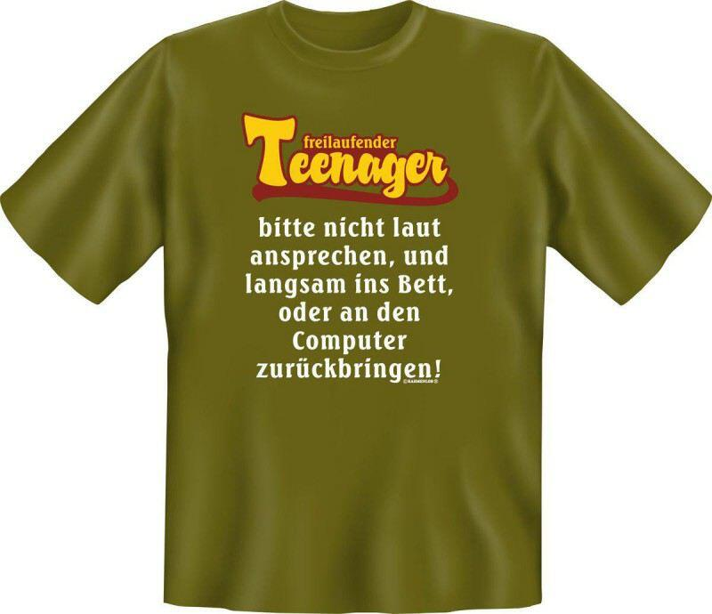 Fun Shirt freilaufender Teenager