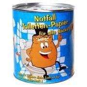 Toilettenpapier für alte Säcke  in Dose WC Klopapier Geschenk