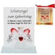 Schutzengel Geburtstag Kristall Engel Glücksbringer Geschenk