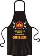Grillschürze GRILL REGEL NR 3 GRILLER