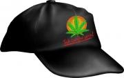 """Caps Fun """"Ich rauche gern!"""", Basecap bestickt schwarz, größenverstellbar Base Cap"""