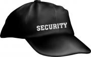 """Caps Fun """"SECURITY"""", Bassecap Cap bestickt schwarz, größenverstellbar"""