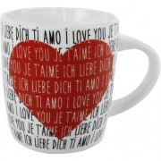 Kaffeebecher Ich liebe Dich Tasse Geschenk Valentinstag Hochzeit