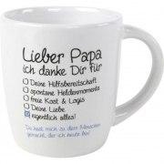 Kaffeebecher Lieber Papa Tasse Becher Vater Vatertag Geschenk