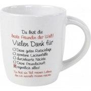 Kaffeebecher Beste Freundin Tasse Geschenk Geburtstag