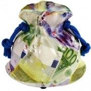 Spardose Geldsack Euro Euronoten Sparbüchse