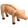 Sparschwein ES KOMMEN MAGERE ZEITEN witzige Spardose Schwein dünn Sparbüchse