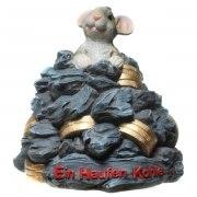 Spardose Ein Haufen Kohle Mäuse Geburtstag Sparbüchse