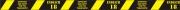 """Absperrband """"ENDLICH 18"""" Party - Absperrband mit witzigen Sprüchen, FUN Artikel für Absperrung und Eingrenzung einer Party zum 18. Geburtstag"""