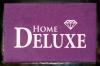 Fußmatte HOME DELUXE, exklusive Fußmatte in Violett, Türvorleger FUN, Sprüche