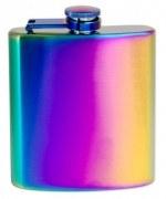Flachmann Rainbow Taschenflasche Flasche 180ml