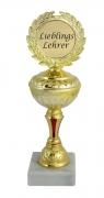Pokal Auszeichnung LIEBLINGSLEHRER, Geschenkpokal Geschenk LEHRER Ehrung