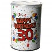 Geschenkdose Happy Birthday 30 Geburtstag
