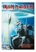 Flagge / Fahne Iron Maiden -2 Minutes to midnight, Posterflag