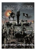 Flagge / Fahne Iron Maiden -A Matter of Life and Death, Posterflag