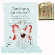Schutzengel Kristall Engel SCHUTZENGEL ZUR HOCHZEIT Geschenk