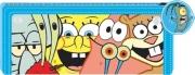 Spongebob Federmappe Griffelmäppchen Etui Stifte Schwammkopf Sponge Bob