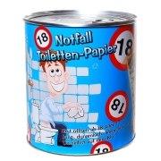 Toilettenpapier 18. Geburtstag in Dose WC Klopapier 18 Jahre Geschenk