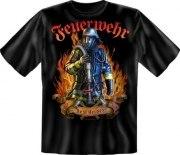 Fun Shirt FEUERWEHR REAL HEROES