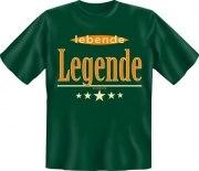 Fun Shirt lebende Legende  T-Shirt Spruch