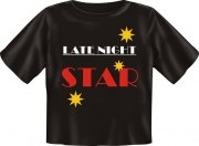 T-Shirt Baby LATE NIGHT STAR