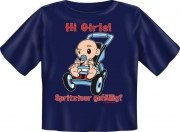 T-Shirt Baby HI GIRLS SPRITZTOUR GEFÄLLIG
