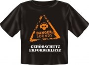 T-Shirt Baby DANGER SOUNDS GEHÖRSCHUTZ