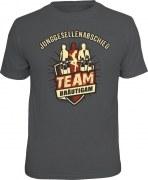 T-Shirt Junggesellenabschied Bräutigam Team