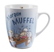 Nici Tasse MORGENMUFFEL Kaffeebecher Geschenk