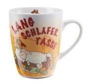 Nici Tasse LANGSCHLÄFER Kaffeebecher Geschenk