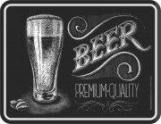 Blechschild  Beer Premium Bier