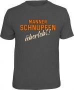 T-Shirt MÄNNER SCHNUPFEN ÜBERLEBT