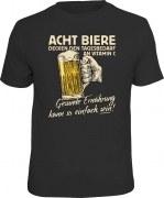T-Shirt ACHT BIERE GESUNDE ERNÄHRUNG