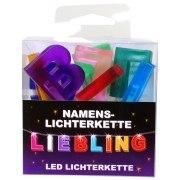 LED Namens-Lichterkette LIEBLING Lichterkette Name Deko innen Liebe