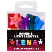 LED Namens-Lichterkette LENA Lichterkette Name Deko innen