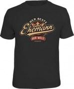 Fun Shirt DER BESTE EHEMANN DER WELT