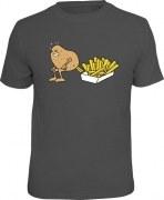 Fun Shirt SO WERDEN POMMES GEMACHT