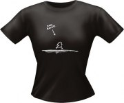 T-Shirt Lady Girlie kann Karate PARTY Shirt Spruch witzig Fun